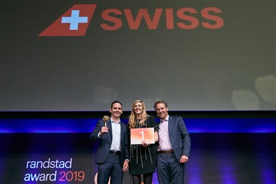 Randstad Award 2019 - Swiss 1st Place